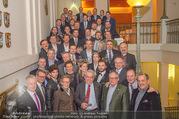 Vinaria Trophy 2018 - Palais Niederösterreich - Do 08.03.2018 - Gruppenfoto Preistr�ger und Paten144