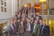Vinaria Trophy 2018 - Palais Niederösterreich - Do 08.03.2018 - Gruppenfoto Preistr�ger und Paten146