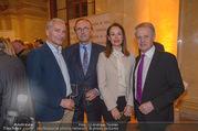 Vinaria Trophy 2018 - Palais Niederösterreich - Do 08.03.2018 - Rainer PARIASEK, Hans und Petra SCHMID, Erwin GOLDFUSS175