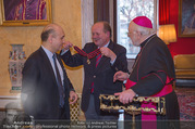 Orden für Ali Rahimi - Apostolische Nuntiatur - Di 13.03.2018 - Ali RAHIMI, Wolfgang BANDION, Nuntius Peter Stephan ZURBRIGGEN11
