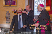 Orden für Ali Rahimi - Apostolische Nuntiatur - Di 13.03.2018 - Ali RAHIMI, Wolfgang BANDION, Nuntius Peter Stephan ZURBRIGGEN12