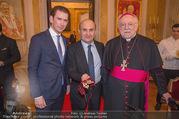 Orden für Ali Rahimi - Apostolische Nuntiatur - Di 13.03.2018 - Sebastian KURZ, Ali RAHIMI, Nuntius Peter Stephan ZURBRIGGEN41