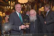 Hermann Nitsch Geburtstag - Marchfelderhof - Mi 14.03.2018 - Hermann NITSCH, Erwin PR�LL17