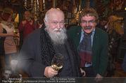 Hermann Nitsch Geburtstag - Marchfelderhof - Mi 14.03.2018 - Hermann NITSCH, Gerhard BOCEK19
