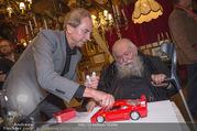 Hermann Nitsch Geburtstag - Marchfelderhof - Mi 14.03.2018 - Hermann NITSCH, Heribert KASPER mit Ferrari42