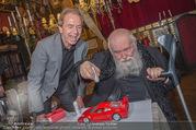 Hermann Nitsch Geburtstag - Marchfelderhof - Mi 14.03.2018 - Hermann NITSCH, Heribert KASPER mit Ferrari43