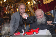 Hermann Nitsch Geburtstag - Marchfelderhof - Mi 14.03.2018 - Hermann NITSCH, Heribert KASPER mit Ferrari44