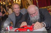 Hermann Nitsch Geburtstag - Marchfelderhof - Mi 14.03.2018 - Hermann NITSCH, Heribert KASPER mit Ferrari45