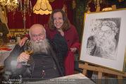 Hermann Nitsch Geburtstag - Marchfelderhof - Mi 14.03.2018 - Hermann NITSCH mit Ehefrau Rita49