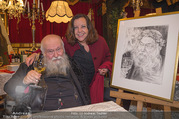 Hermann Nitsch Geburtstag - Marchfelderhof - Mi 14.03.2018 - Hermann NITSCH mit Ehefrau Rita50