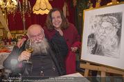 Hermann Nitsch Geburtstag - Marchfelderhof - Mi 14.03.2018 - Hermann NITSCH mit Ehefrau Rita51