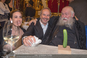 Hermann Nitsch Geburtstag - Marchfelderhof - Mi 14.03.2018 - Hermann NITSCH, Elise und Erwin WURM54