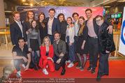 Kinopremiere Die letzte Party Deines Lebens - Cineplexx Donauplex - Do 22.03.2018 - Gruppenfoto Cast, Schauspieler, Besetzung33