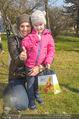 Lindt Goldhasensuche - Botanischer Garten Schönbrunn - So 25.03.2018 - Tanja DUHOVICH mit Tochter Nici5