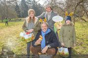 Lindt Goldhasensuche - Botanischer Garten Schönbrunn - So 25.03.2018 - Familie Oliver STAMM mit Caro STRASNIK und Kindern Mia und Glori7