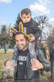 Lindt Goldhasensuche - Botanischer Garten Schönbrunn - So 25.03.2018 - Fadi MERZA mit Sohn Michel8