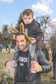 Lindt Goldhasensuche - Botanischer Garten Schönbrunn - So 25.03.2018 - Fadi MERZA mit Sohn Michel9