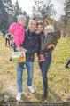Lindt Goldhasensuche - Botanischer Garten Schönbrunn - So 25.03.2018 - Familie Tanja DUHOVICH mit Stergio, Tochter Nici und Sohn Giorgi14