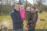 Lindt Goldhasensuche - Botanischer Garten Schönbrunn - So 25.03.2018 - Familie Tanja DUHOVICH mit Stergio, Tochter Nici und Sohn Giorgi16