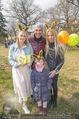 Lindt Goldhasensuche - Botanischer Garten Schönbrunn - So 25.03.2018 - Kathi STEININGER, Cyril RADLHER, Yvonne RUEFF mit Nichte Pia18