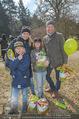 Lindt Goldhasensuche - Botanischer Garten Schönbrunn - So 25.03.2018 - Sylvia GRAF mit Sohn Moritz und Partner sowie Sohn von N. IVANEK19