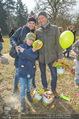 Lindt Goldhasensuche - Botanischer Garten Schönbrunn - So 25.03.2018 - Sylvia GRAF mit Sohn Moritz und Partner20