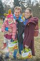 Lindt Goldhasensuche - Botanischer Garten Schönbrunn - So 25.03.2018 - Familie Andreas FERNER mit Viktoria und Kind Maria23