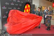 Romero Britto - Parndorf Fashion Outlet - Mi 04.04.2018 - Romero BRITTO enth�llt sein Kunstwerk48