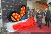 Romero Britto - Parndorf Fashion Outlet - Mi 04.04.2018 - Romero BRITTO enth�llt sein Kunstwerk49