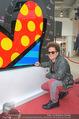 Romero Britto - Parndorf Fashion Outlet - Mi 04.04.2018 - Romero BRITTO bei seinem Kunstwerk55