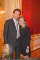 650 Jahre Nationalbibliothek Fundraising - Hofburg - Di 10.04.2018 - Matthias und Ali Alexandra G�RTLER21