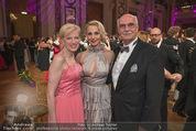 Dancer against Cancer - Hofburg - Sa 14.04.2018 - Silvia SCHNEIDER mit Eltern Martha SCHNEIDER und Stiefvater Leop142