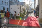 Opening - Iazzetta Store - Do 19.04.2018 - WC/Toilette direkt vorm Red Carpet / Eingang7