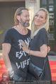 Opening - Iazzetta Store - Do 19.04.2018 - Janine KUNZE mit Ehemann Dirk BUDACH38