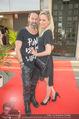 Opening - Iazzetta Store - Do 19.04.2018 - Janine KUNZE mit Ehemann Dirk BUDACH42