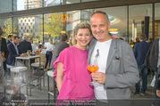 Al Banco Bar Opening - Erste Bank Campus - Di 24.04.2018 - Regina BAUMGARTNER, Bernd SCHLACHER12