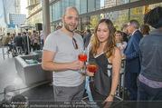 Al Banco Bar Opening - Erste Bank Campus - Di 24.04.2018 - Miriam HIE mit Begleitung28