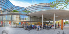 Al Banco Bar Opening - Erste Bank Campus - Di 24.04.2018 - Bar, Architektur von Au�en34