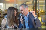 Al Banco Bar Opening - Erste Bank Campus - Di 24.04.2018 - Monika BALLWEIN, Andreas TREICHL singen ein Duett48