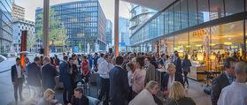 Al Banco Bar Opening - Erste Bank Campus - Di 24.04.2018 - Al Bance Bar von außen65