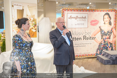 Lena Hoschek Kollektion - Betten Reiter - Mi 25.04.2018 - Lena HOSCHEK, Peter HILDEBRAND5