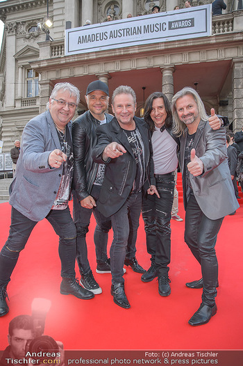 Amadeus Austria Music Awards 2018 - Volkstheater - Do 26.04.2018 - Nockalm Quintett10