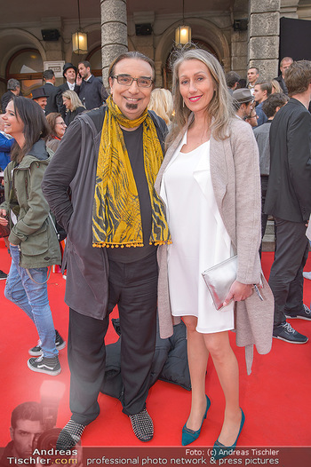 Amadeus Austria Music Awards 2018 - Volkstheater - Do 26.04.2018 - Rudi DOLEZAL, Daniela KOVACS37