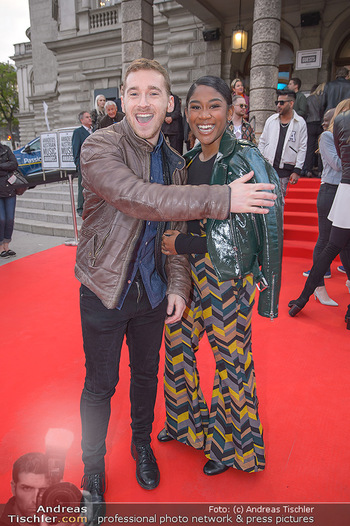 Amadeus Austria Music Awards 2018 - Volkstheater - Do 26.04.2018 - Rose May ALABA, Nathan TRENT71