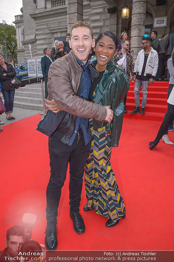 Amadeus Austria Music Awards 2018 - Volkstheater - Do 26.04.2018 - Rose May ALABA, Nathan TRENT72