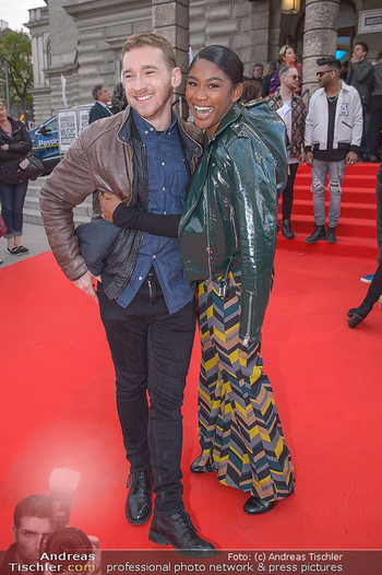 Amadeus Austria Music Awards 2018 - Volkstheater - Do 26.04.2018 - Rose May ALABA, Nathan TRENT74
