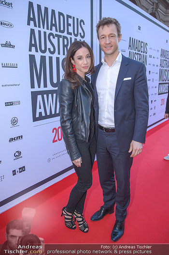 Amadeus Austria Music Awards 2018 - Volkstheater - Do 26.04.2018 - Gernot BL�MEL, Clivia TREIDL87