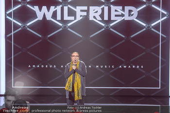 Amadeus Austria Music Awards 2018 - Volkstheater - Do 26.04.2018 - Rudi DOLEZAL ehrt WILFRIED f�r sein Lebenswerk posthum216
