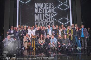 Amadeus Austria Music Awards 2018 - Volkstheater - Do 26.04.2018 - Gruppenfoto Sieger Preistr�ger230