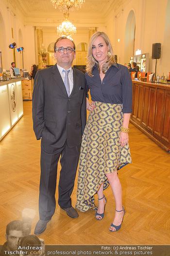 Trophee Gourmet - Hofburg - Do 03.05.2018 - Christian GR�NWALD, Nadja BERNHARD2